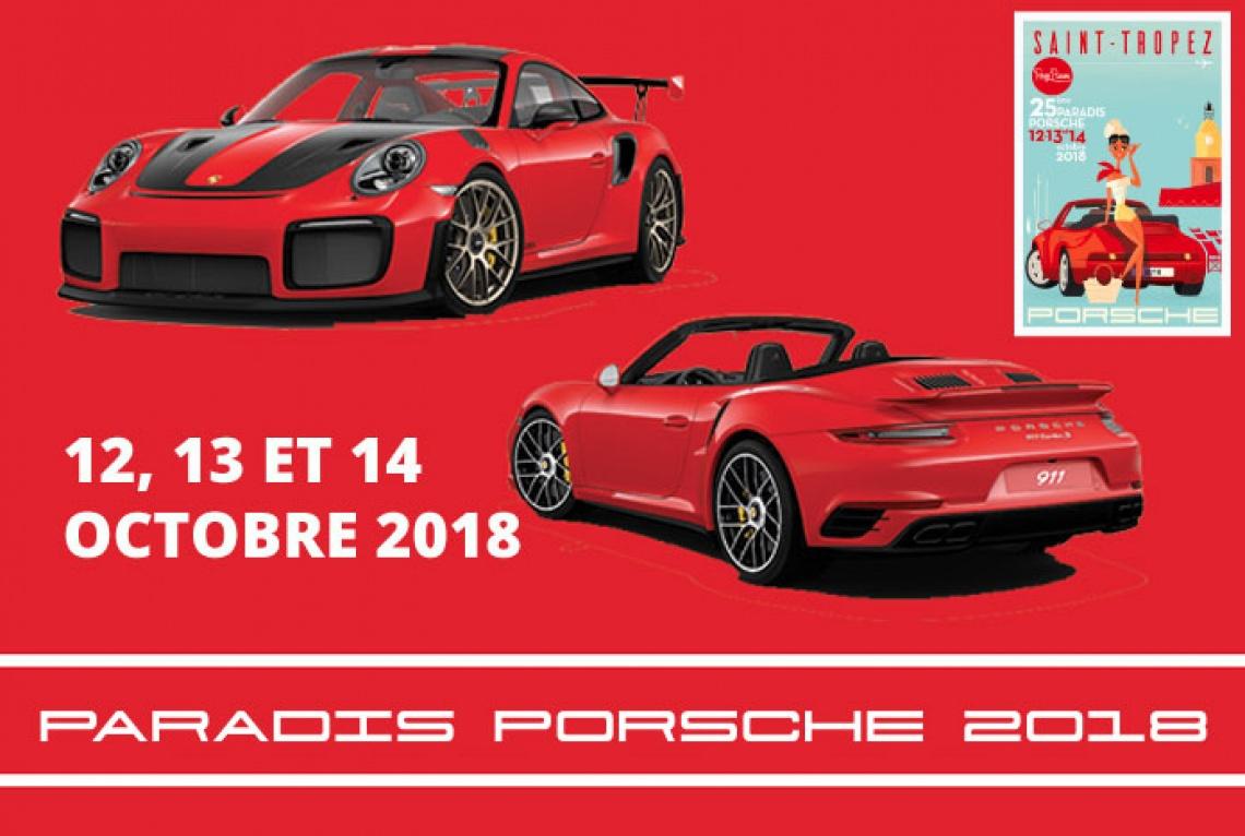 2018 Porsche Paradis de Saint-Tropez