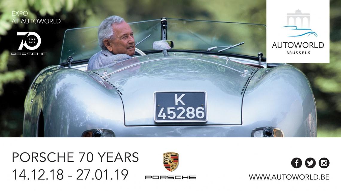 Autoworld Expo: Porsche 70 Years