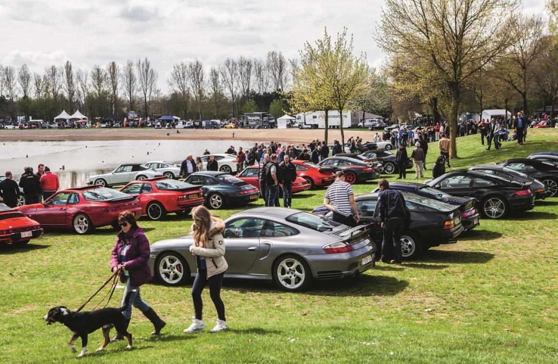 PUUR Porsche Treffen @ Aquabest