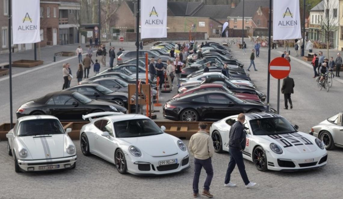 4de Porsche Meeting / Lenterit in Alken