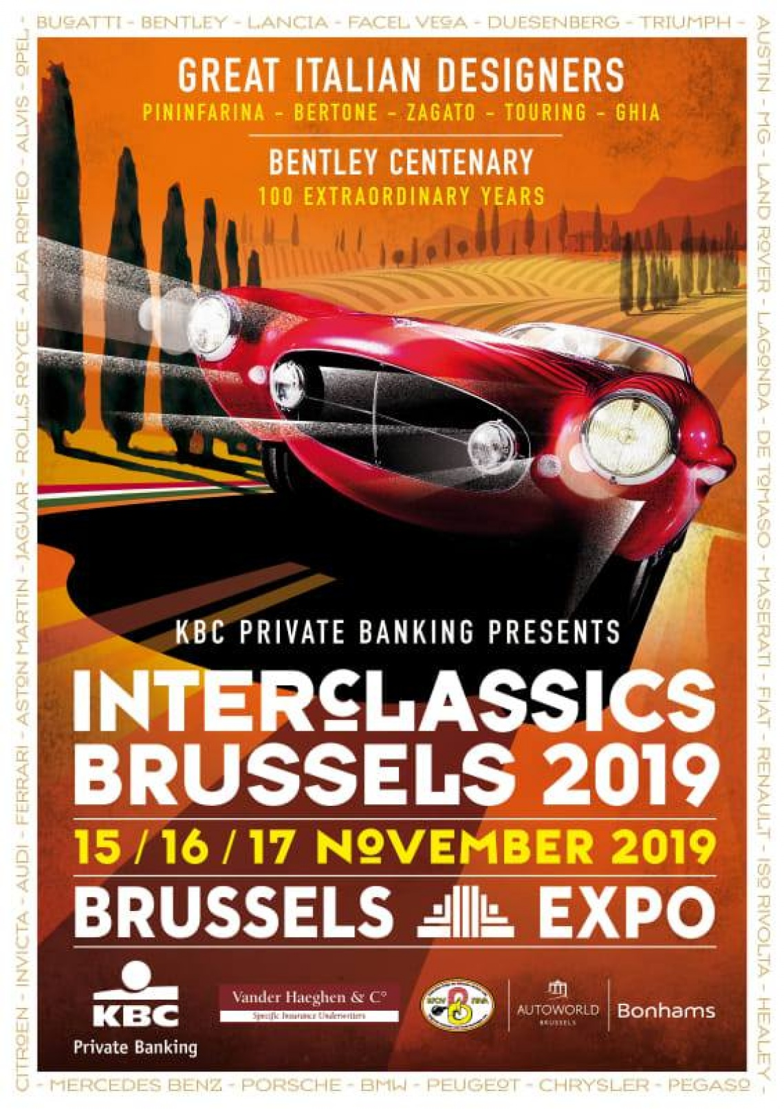 Interclassics 2019 @ Brussels Expo