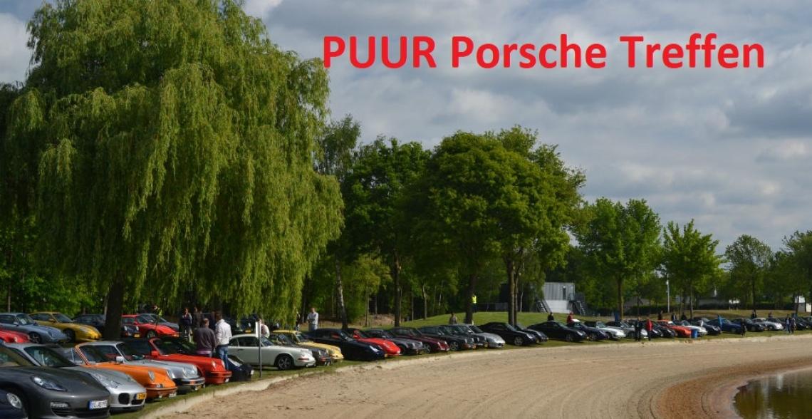 PUUR Porsche Treffen in recreatiegebied Aquabest
