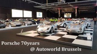 Porsche 70 Years at Autoworld Brussels (all cars)